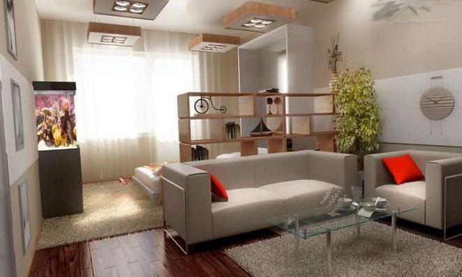 Однокомнатная квартира дизайн 15