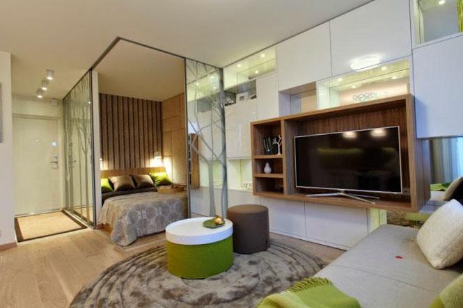 Однокомнатная квартира дизайн 16