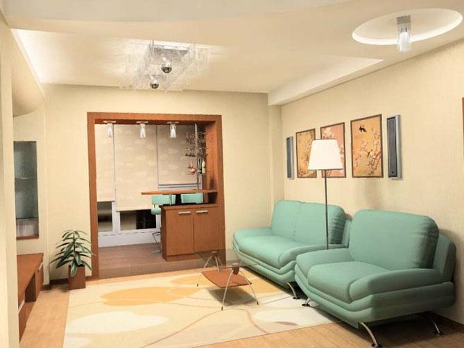 Оформление однокомнатной квартиры 10