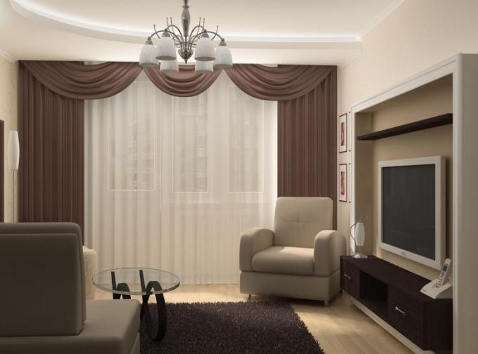 Однокомнатная квартира дизайн 4