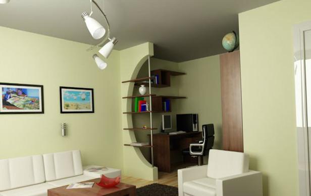 Однокомнатная квартира дизайн 5