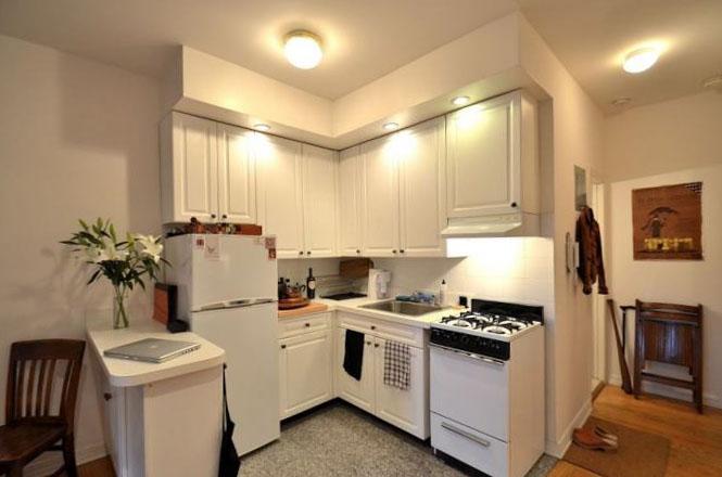 Кухня в однокомнатной квартире 2