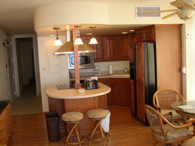 Кухня в однокомнатной квартире 3