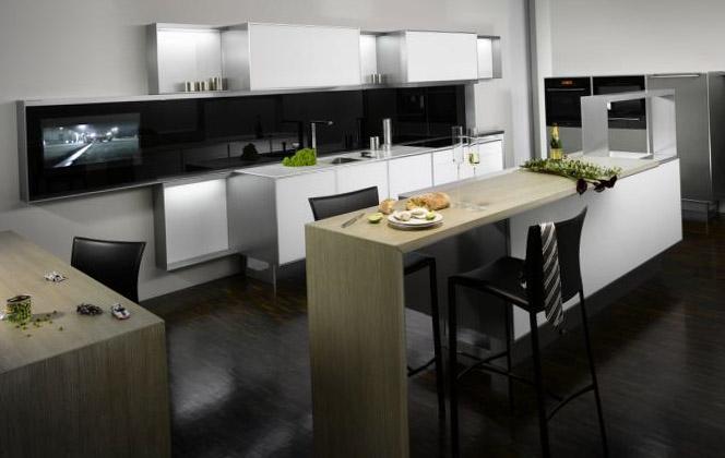 Кухня в однокомнатной квартире 6