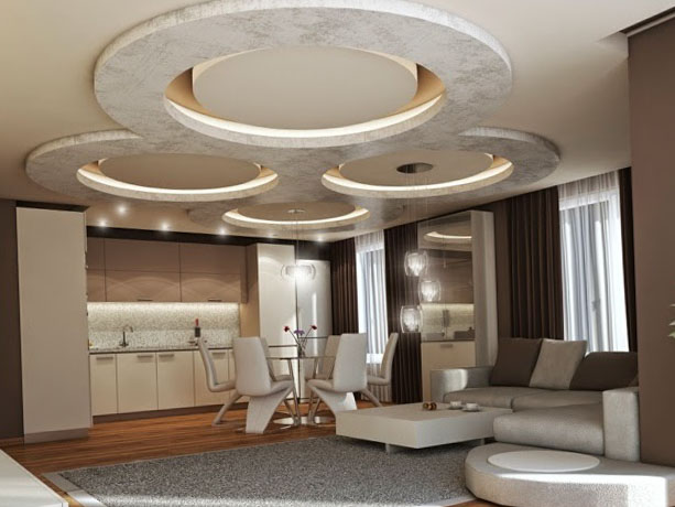 Ceiling design drywall