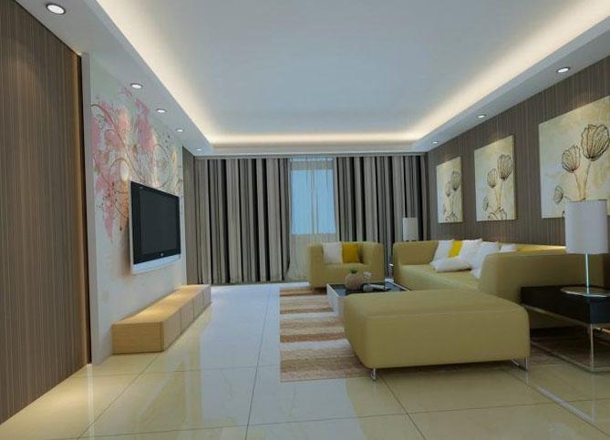 Фото дизайн потолка в зале