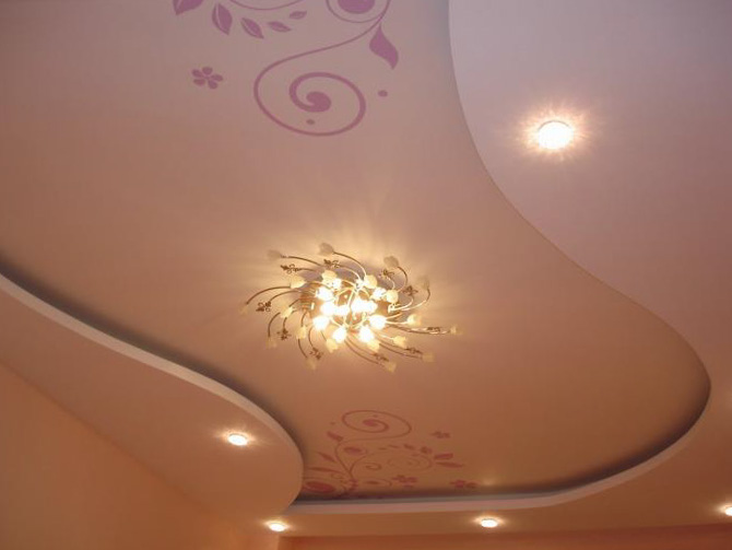 Stretch ceiling