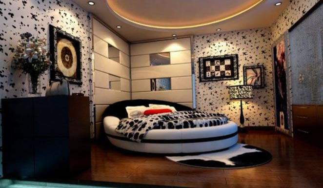 Design ceilings in the bedroom