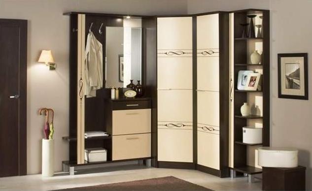 Дизайн угловой прихожей в квартире фото