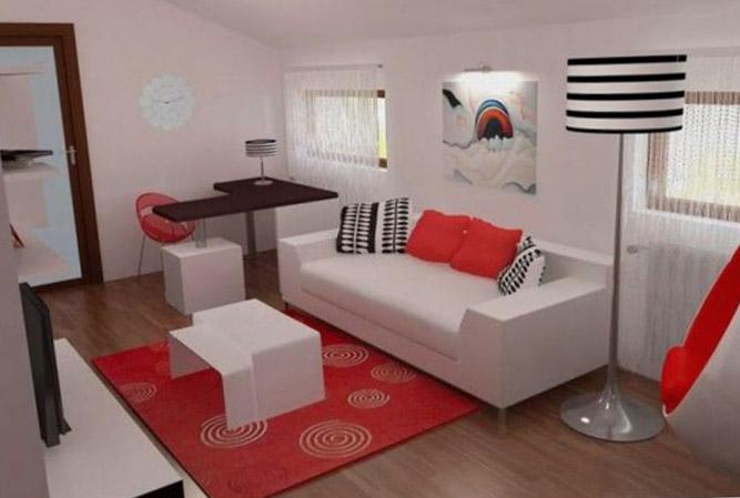 Спальня-гостиная: секреты оформления - фото