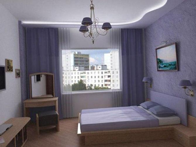 Фото спальной комнаты в панельном доме