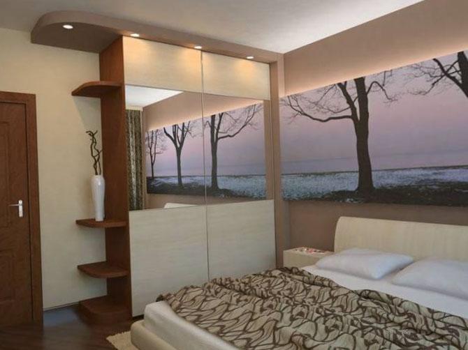 Дизайн спальни 12 кв.м фото в хрущевке