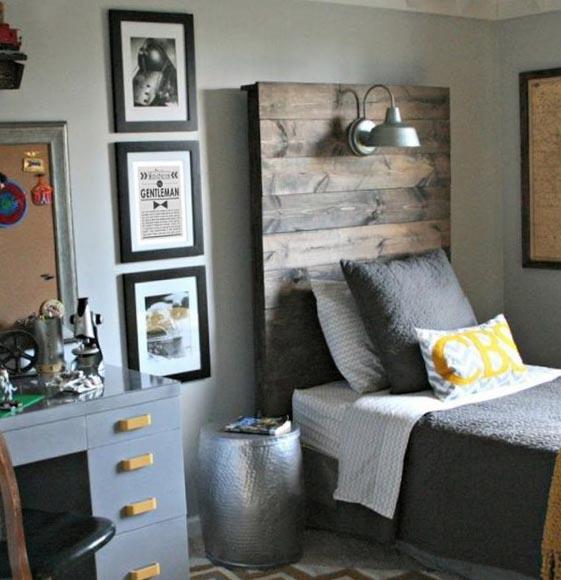 Индустриальный стиль комнаты