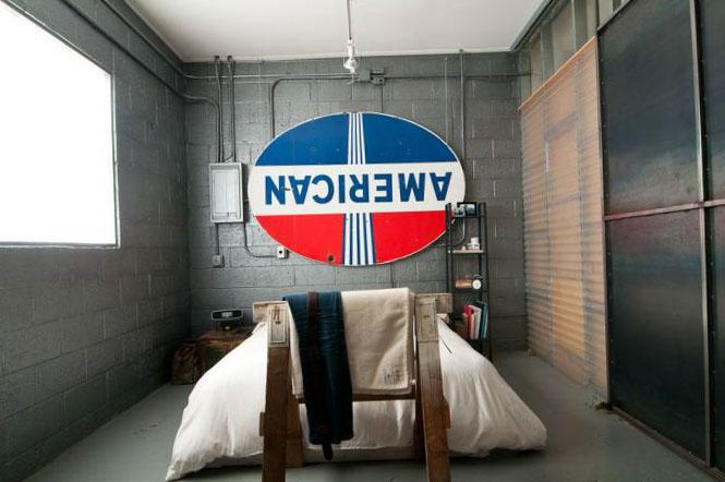 Индустриальный стиль комнаты - 2