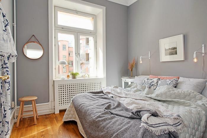 Пример оформления маленькой спальни