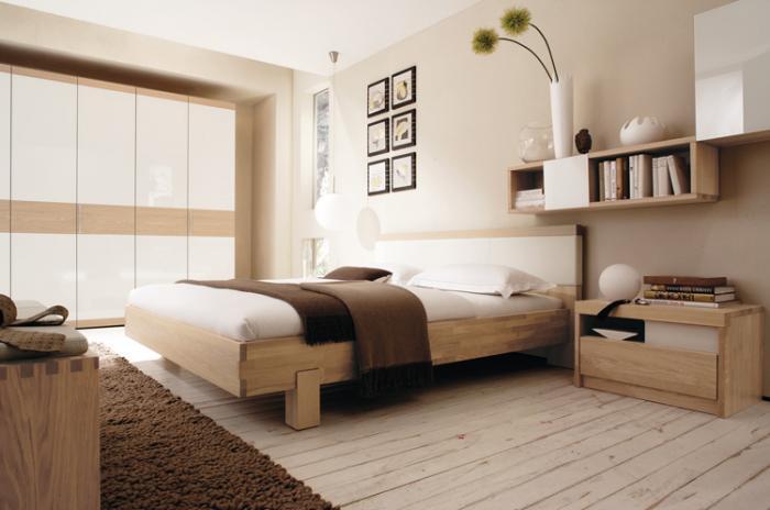 Современный интерьер спальни 1