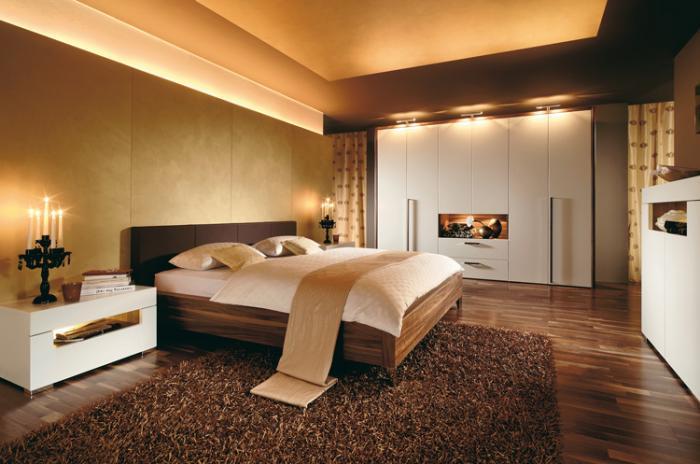 Современный интерьер спальни 3