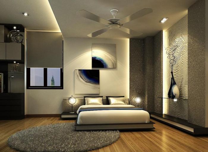 дизайн спальни 100 лучших фото интерьера современной спальни