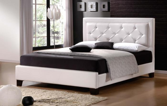 Современный интерьер спальни 7