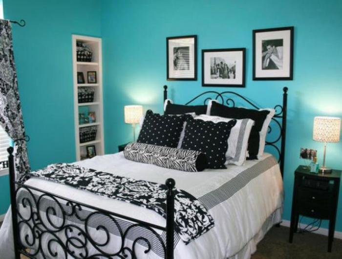 Дизайн штор в спальне в классическом стиле