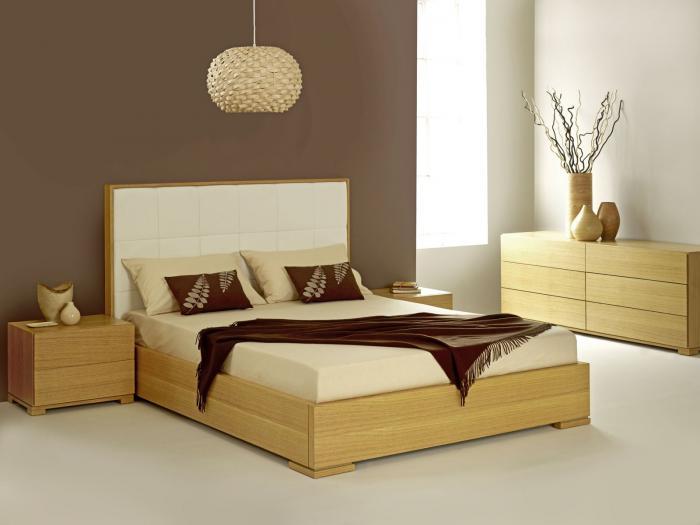 Современный интерьер спальни 10