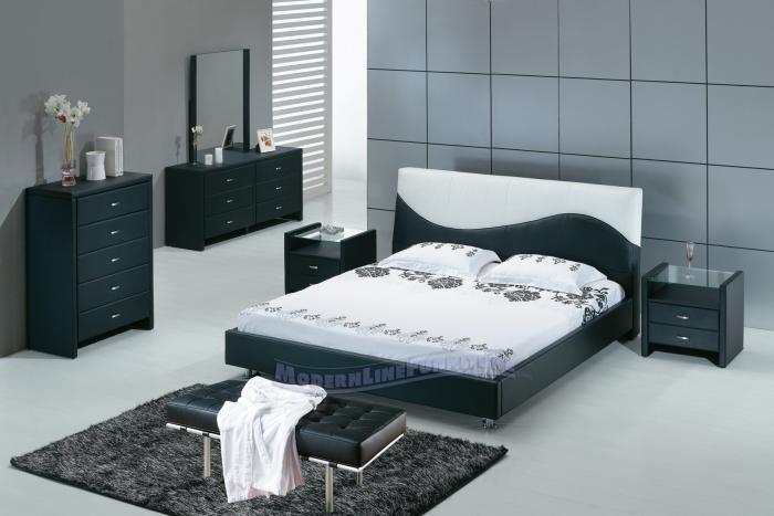 Спальня в стиле минимализм 3