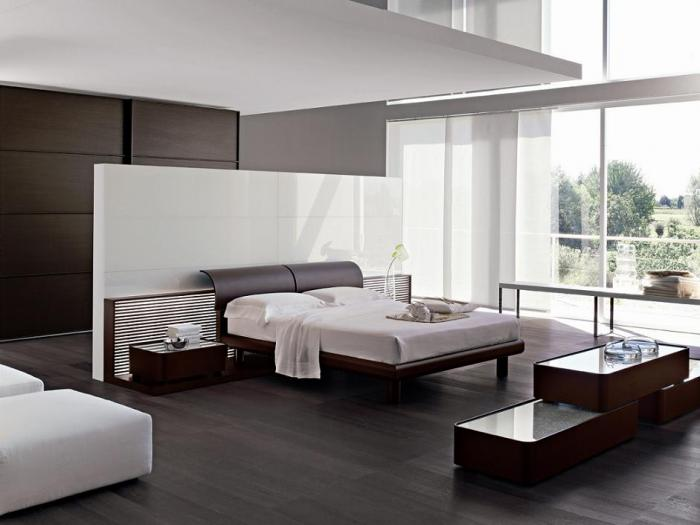Спальня в стиле минимализм 4