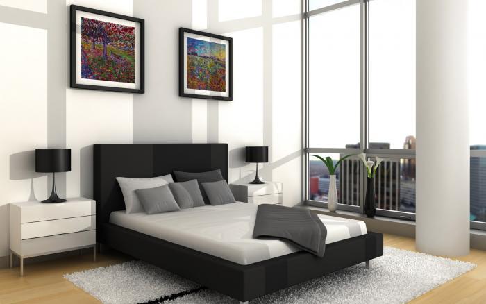 Спальня в стиле минимализм 6