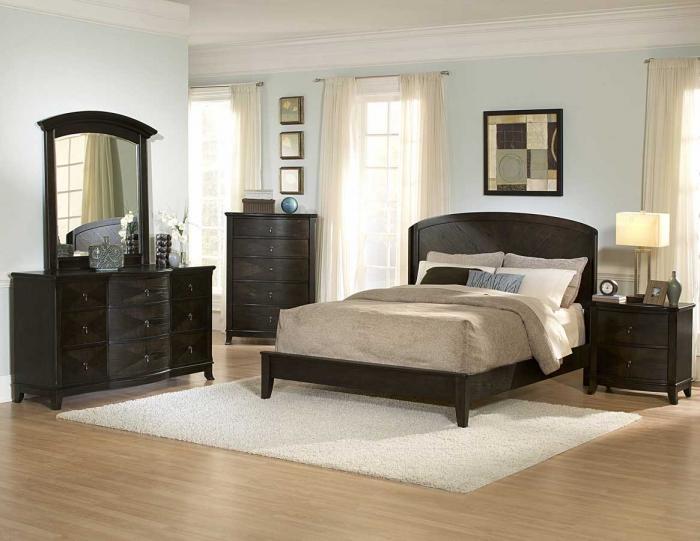 Спальня в классическом стиле 3