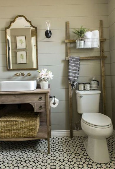 Фото интерьера туалета 14