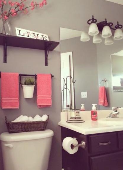 Дизайн туалета и ванной комнаты - фото 2