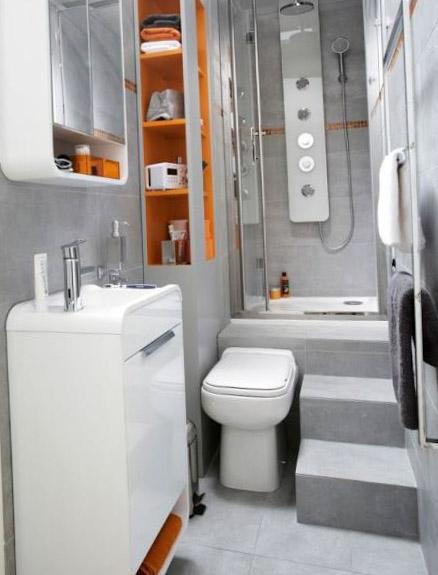 Дизайн туалета и ванной комнаты - фото 6