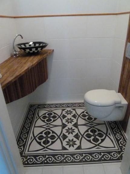 Фото дизайна туалета 5