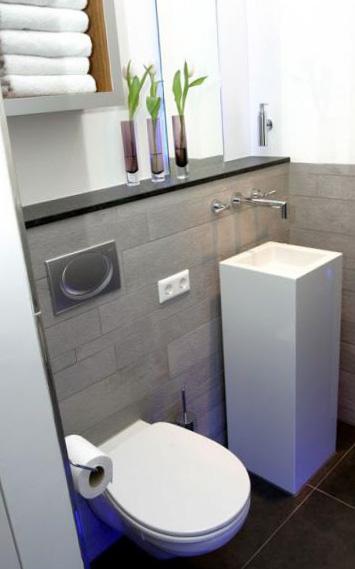 Дизайн туалета 1,5 кв. м 2
