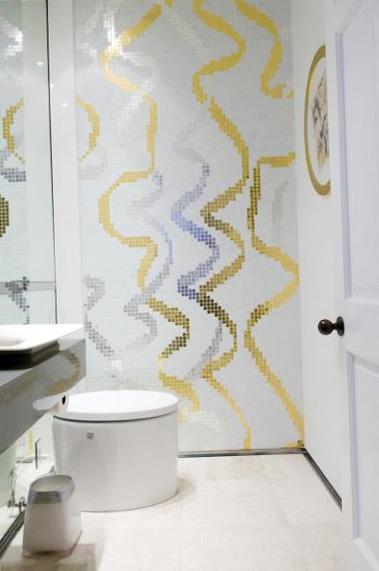 Дизайн туалета и ванной комнаты - фото