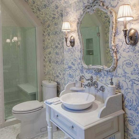 Дизайн туалета большой площади