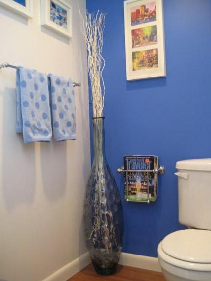 Цветовое решение для дизайна туалета 10