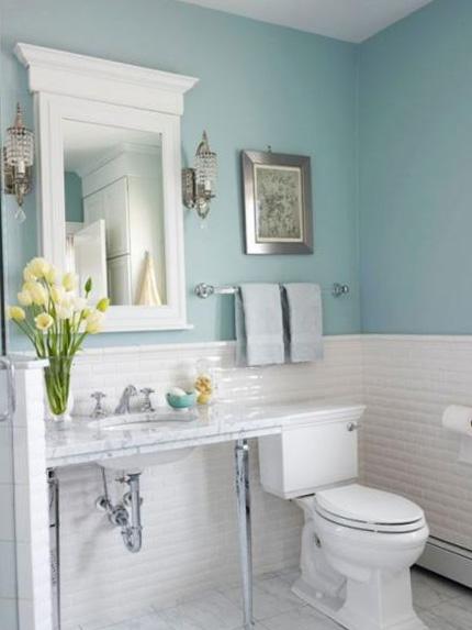 Фото интерьера туалета 10