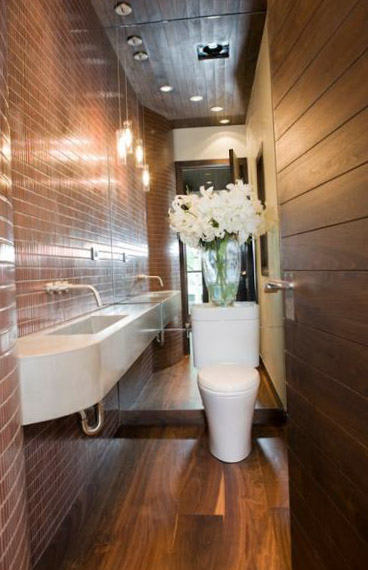 Фото интерьера туалета 11