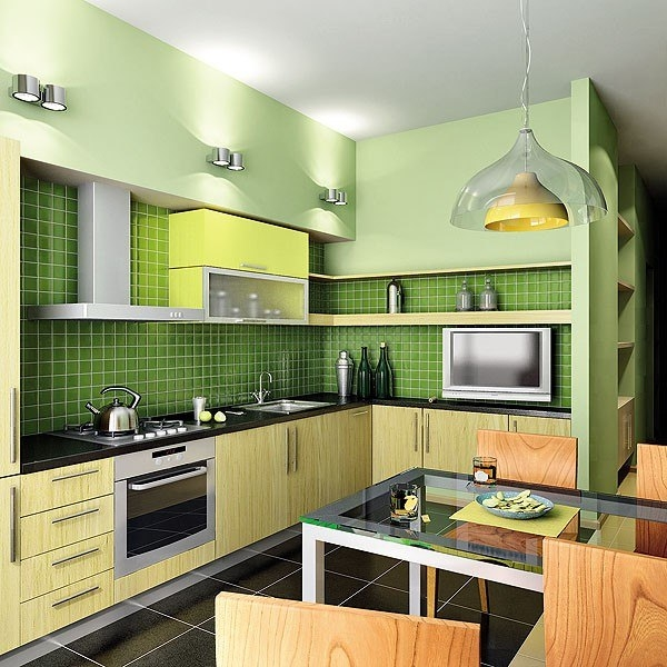 Функциональные идеи для кухни 33