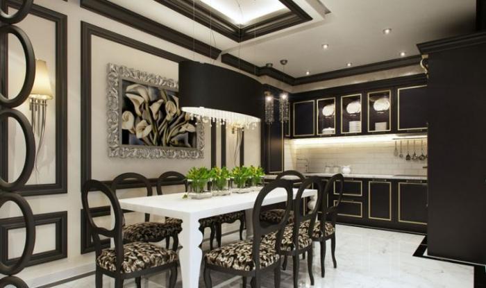 Дизайн кухни в частном доме 12 кв.м фото