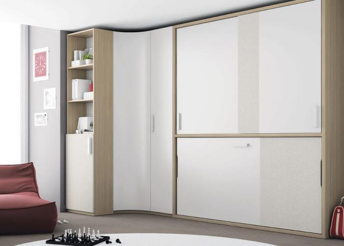 Дизайн угловых шкафов-купе 11