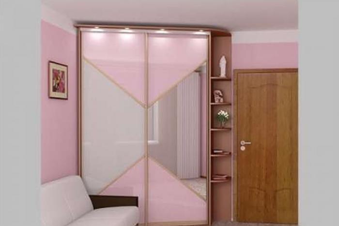 Дизайн угловых шкафов-купе 12