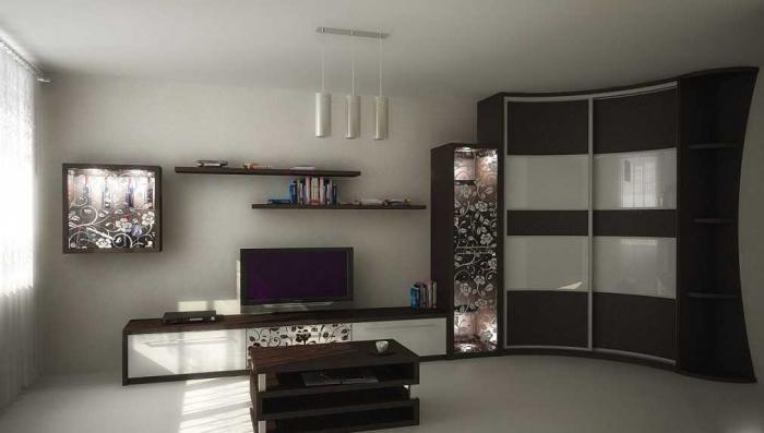 Дизайн угловых шкафов-купе 3