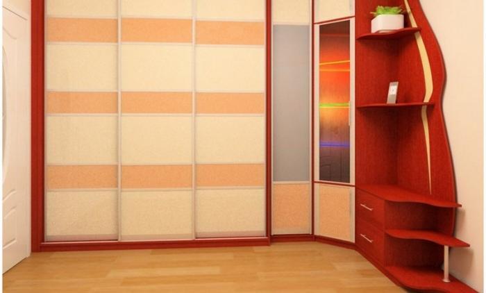 Дизайн угловых шкафов-купе 6