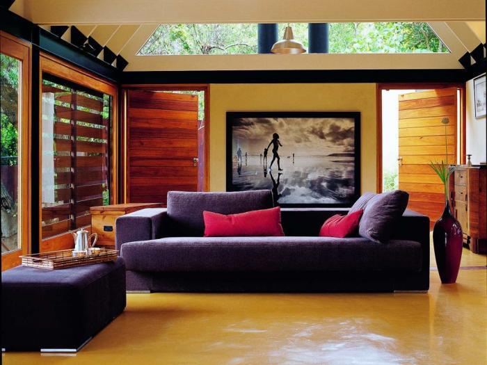 Дизайн загородного дома: зал 3