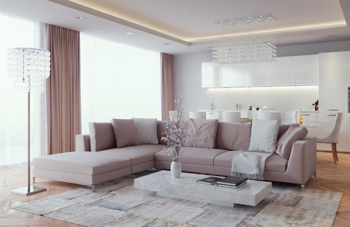 Варианты дизайна зала