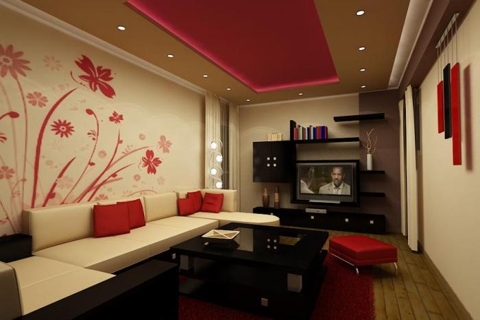 Идеи для дизайна зала 1