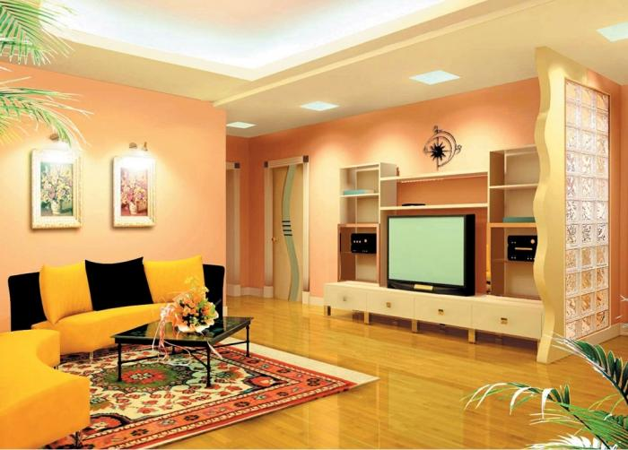 Дизайн зала в однокомнатной хрущевке