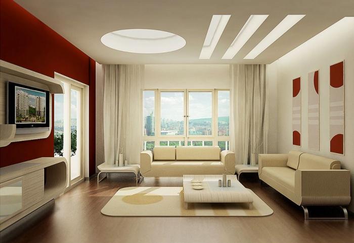 Идеи для интерьера зала